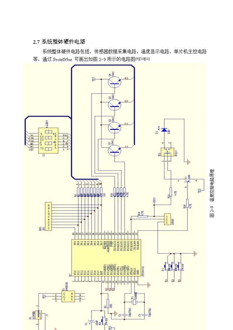 基于stc89c2单片机的温度控制电路设计.doc