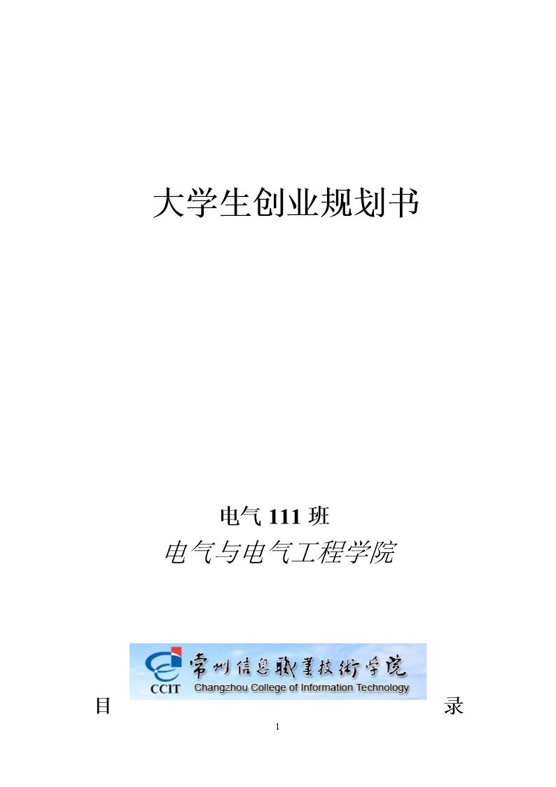 大学生创新创业计划书.doc