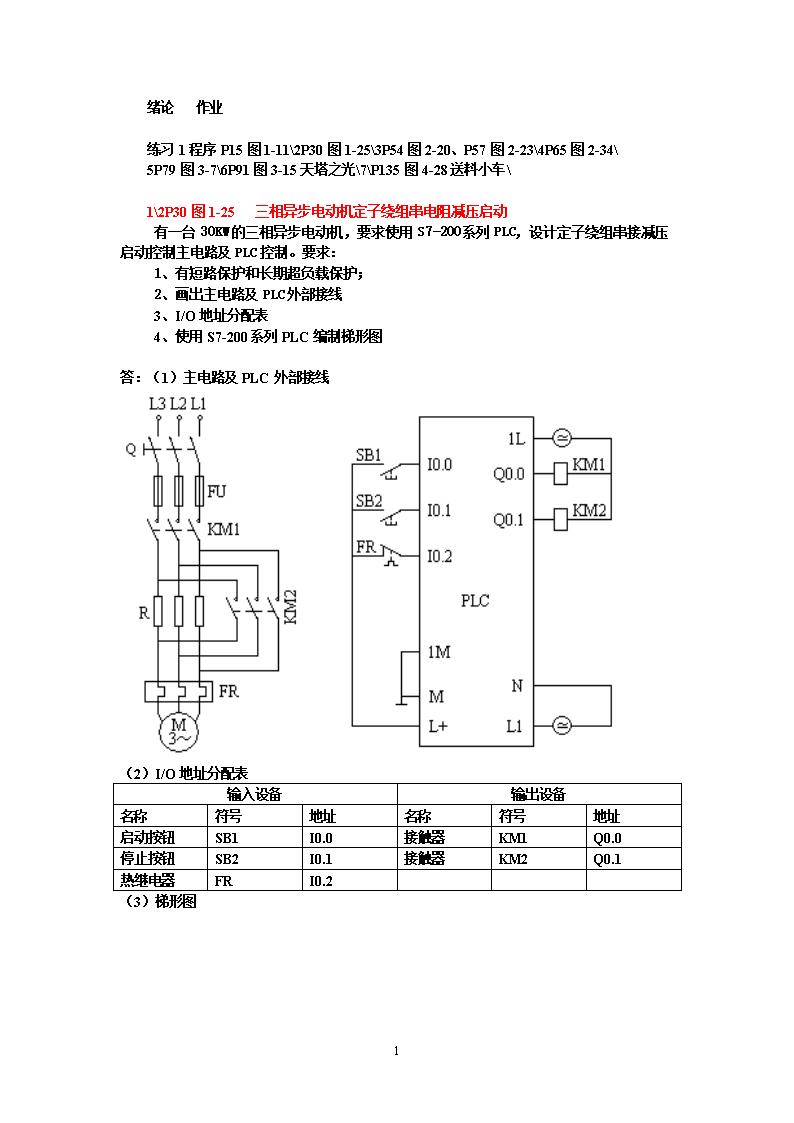 尽管梯形图与继电器控制电路图在结构形式