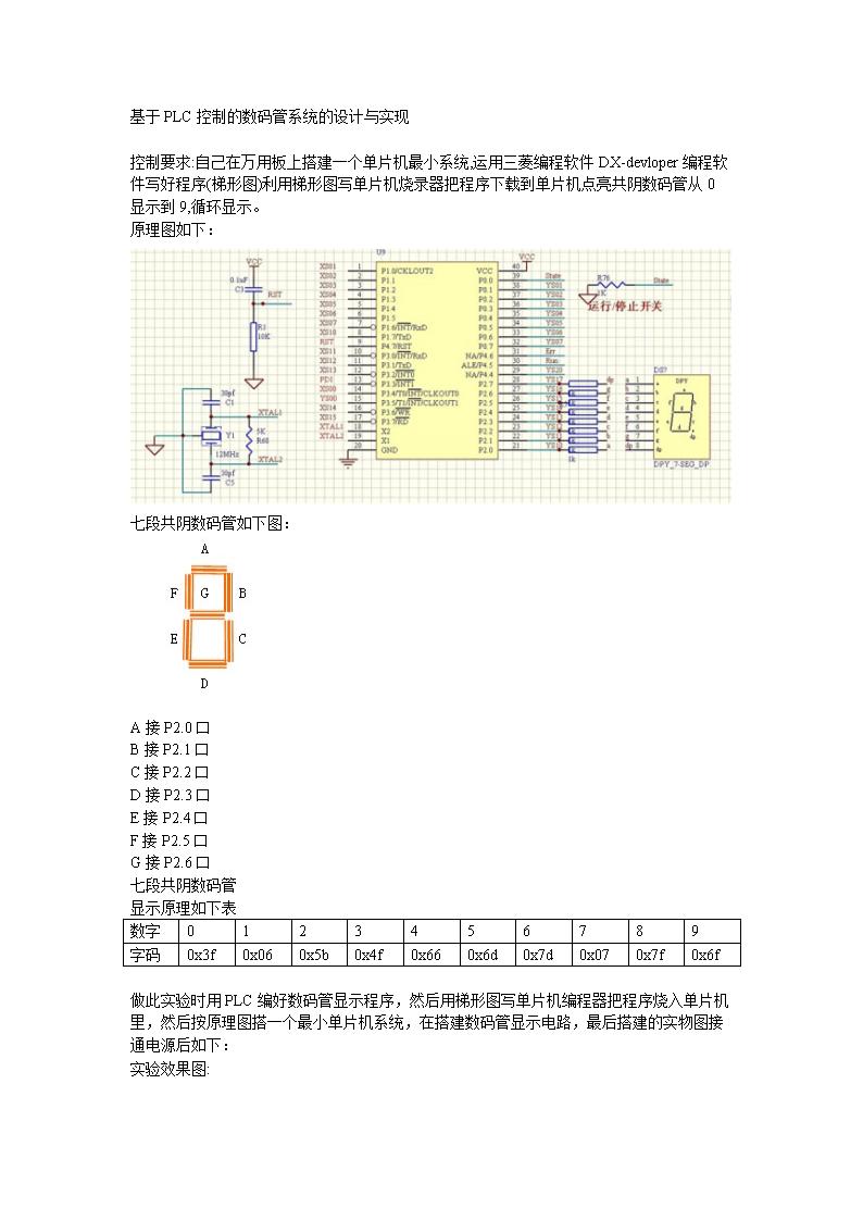 电路,比如74ls47,74ls48等等,两者的区别是一个可以驱动共阳极数码管