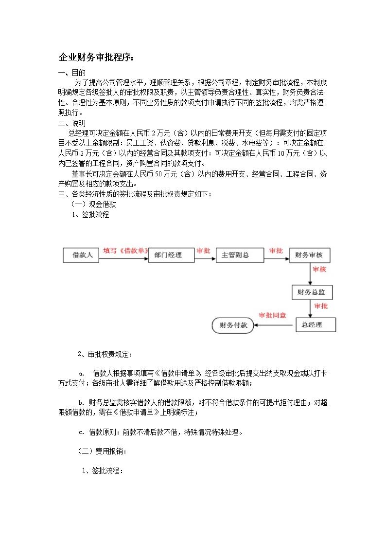 2015企业财务审批流程图.doc
