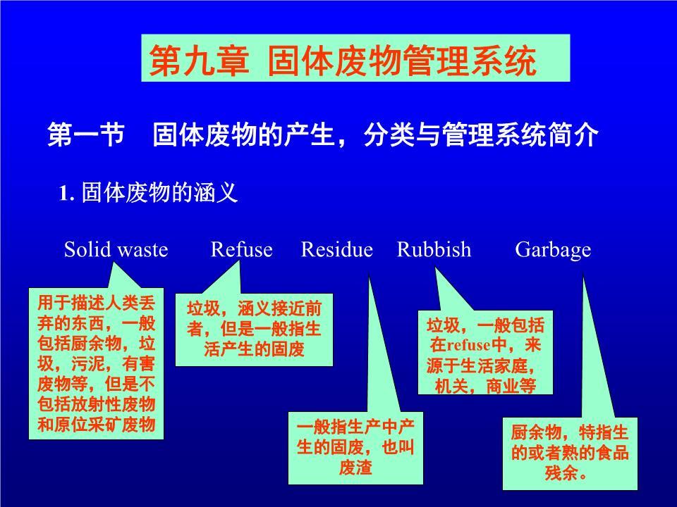 环境工程 固体废物.ppt