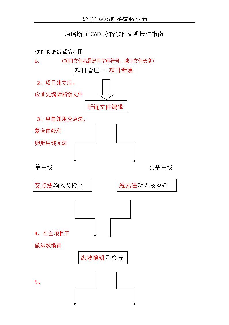 5,路基就输入一下,路基断面和设计线参数(没有可以不输入)超高加宽