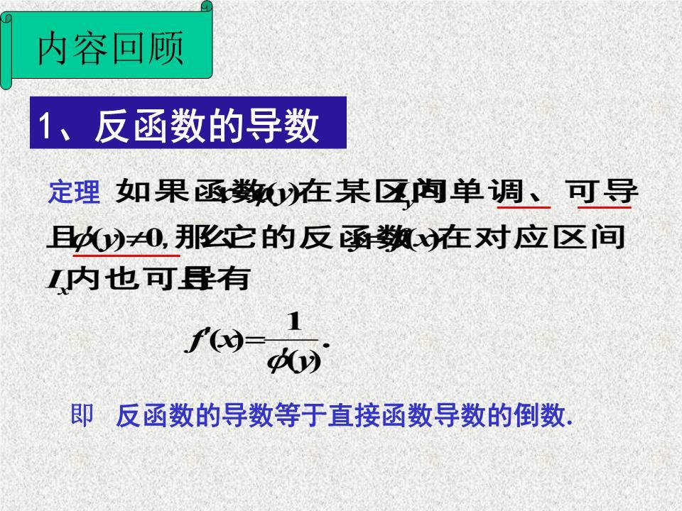 方程确定的函数的导数高阶导数.ppt