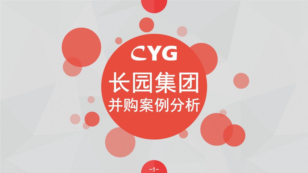长园集团并购案例幻灯片.ppt