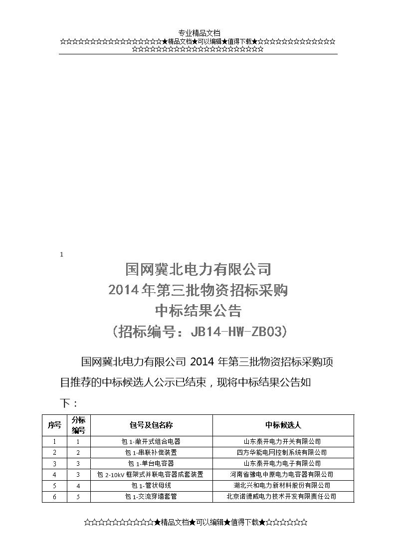 计量箱(金属)华仪电器集团浙江有限公司6429包1