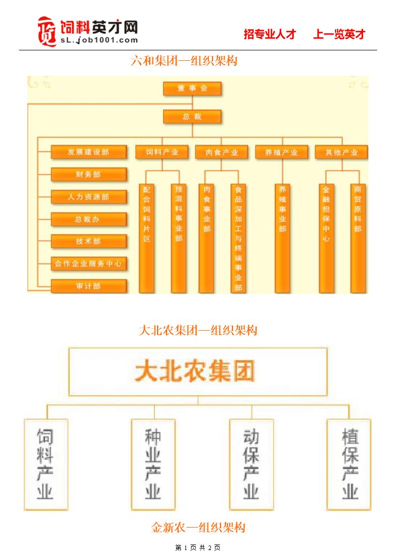 大型饲料企业节组织架构.doc图片