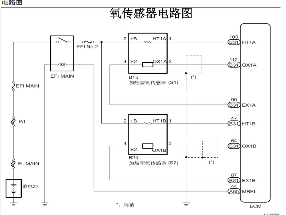 氧传感器电路图资料.ppt